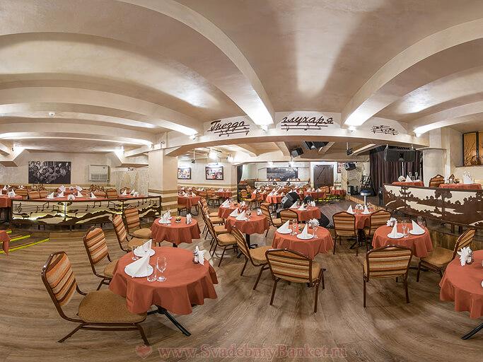 Большой зал бард-клуба Гнездо глухаря