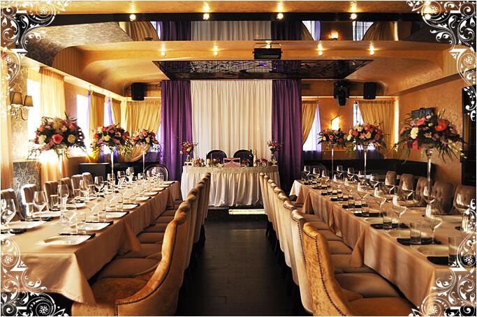 Зал ресторана Граф лаунж