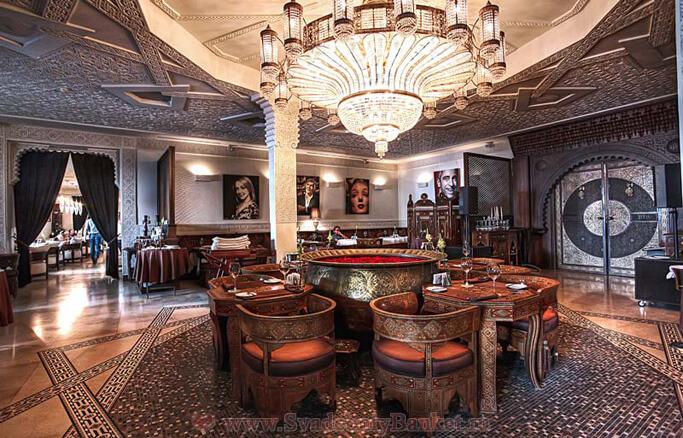 Основной зал ресторана Дамас