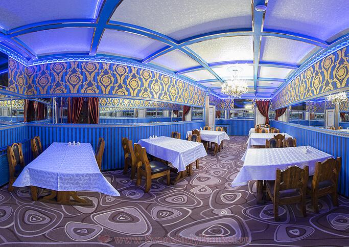 Малый зал ресторана БАРАНйЕС (Рай)