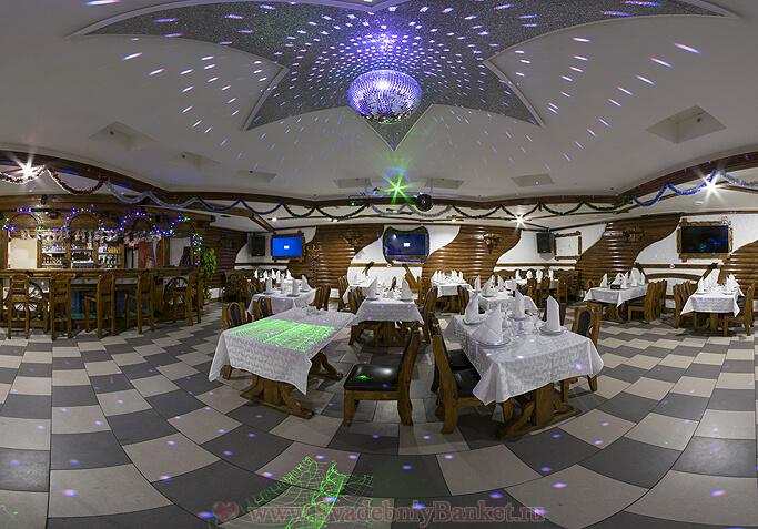 Основной зал ресторана БАРАНйЕС (Рай)