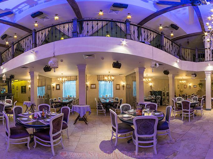 Банкетный зал ресторана Шабада