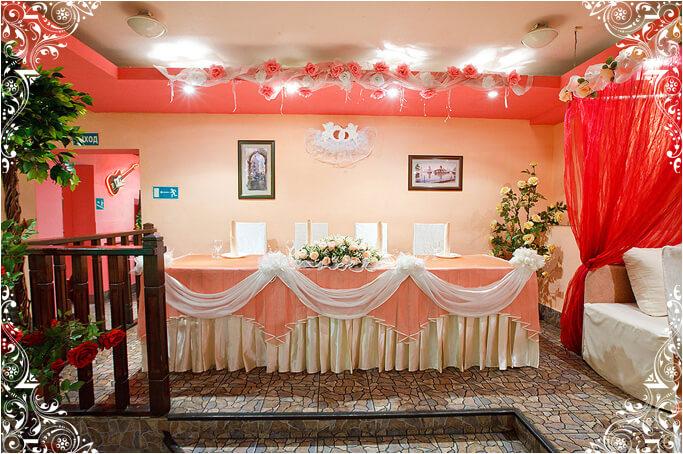 Большой зал кафе Малина
