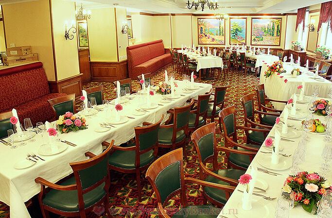 Ресторан Терранео в Корт ярд Марриотт Москоу Сити Центр