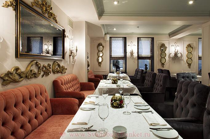 Основной зал ресторана Accenti