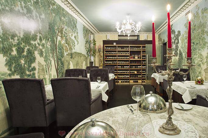Малый банкетный зал ресторана Accenti