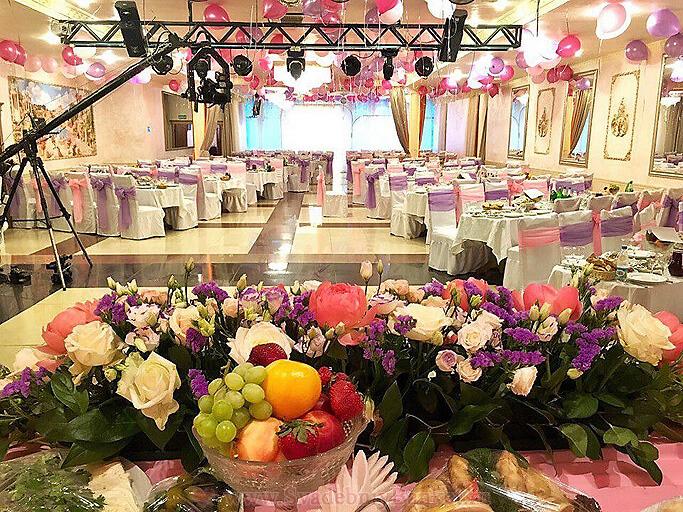 Объединённый зал Версаль+Шампань ресторана Авиньон в Ясенево