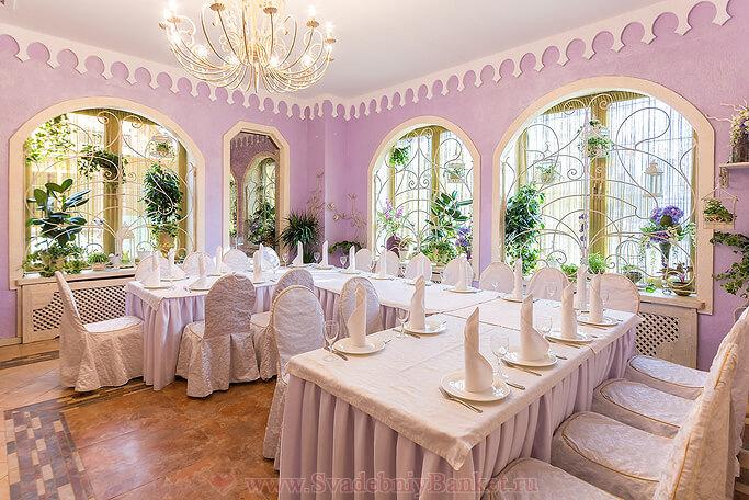 VIP зал ресторана Шахин-Шах банкетного комплекса Парадайз
