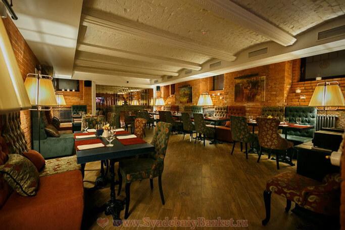 Основной зал ресторана Виски Румс