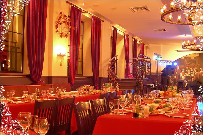 Зал ресторана G&M