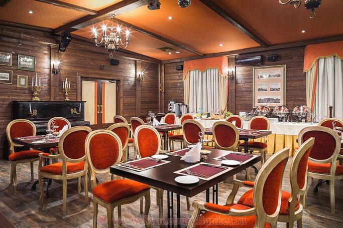 Русский зал ресторана Брайтон