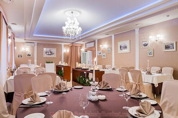 Европейский зал ресторана Брайтон