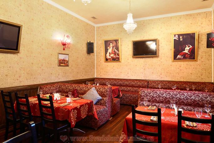 Банкетный зал Наполеон кафе У Гоголя
