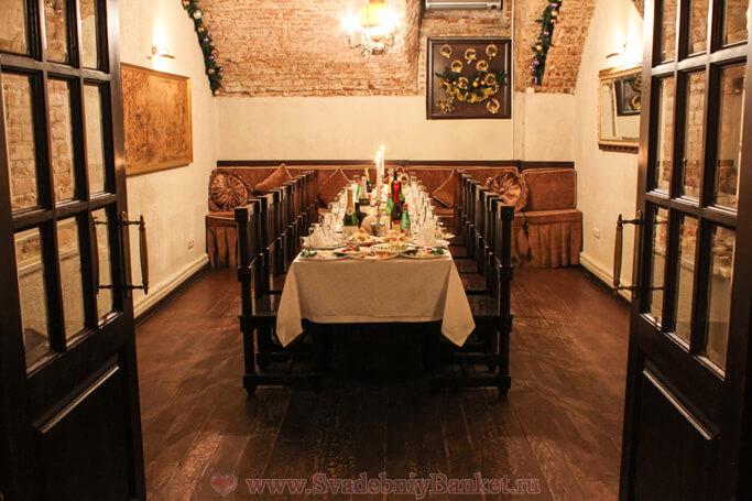 VIP-зал ресторана Золотая рыбка